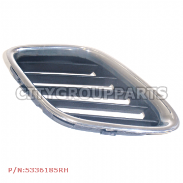 SAAB 9-5 MODELS 1998 TO 2005 DRIVER RIGHT SIDE FRONT CHROME GRILL 5336185 RH